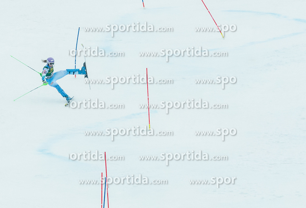 MAZE Tina (SLO) falls during the 2nd Run of 7th Ladies' Slalom at 51st Golden Fox of Audi FIS Ski World Cup 2014/15, on February 22, 2015 in Pohorje, Maribor, Slovenia. Photo by Vid Ponikvar / Sportida