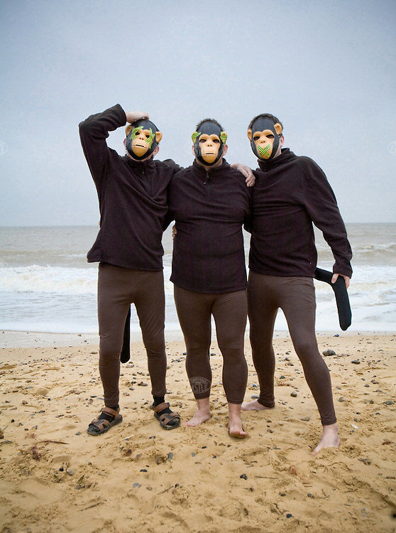 Photo©Tom Wagner- Photographs of Southwold charity event on christmas day. People in costume take a morning dip/swim for charity. The event is a recent creation, but has become popular quickly. several hundred people were aid to have swam. Southwold is a charming north Suffolk seaside town on the Suffolk Heritage Coast. It is almost an island. www.tomwagnerphoto.com<br /> Photo©Tom Wagner 2007/ ©2007 Tom Wagner<br /> - all rights reserved,all moral rights asserted. Copyrighted - no useage allowed without written permission and agreement of Tom Wagner, photographer/creator.