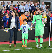 Julian Speroni and family - Crystal Palace v Dundee - Julian Speroni testimonial match at Selhurst Park<br /> <br />  - © David Young - www.davidyoungphoto.co.uk - email: davidyoungphoto@gmail.com