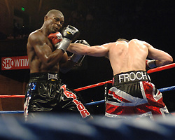 Carl Froch retained his  WBC Super Middleweight title  by TKO in the 12th round against Jermain Taylor tonight at the MGM Grand at Foxwoods in Mashantucket, CT.  .