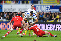 Damien CHOULY - 14.12.2014 - Clermont / Munster - European Champions Cup <br /> Photo : Jean Paul Thomas / Icon Sport