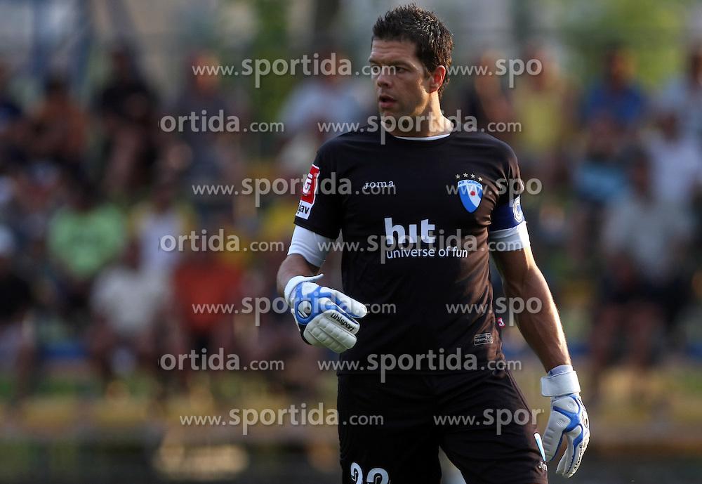 Goalkeeper of Gorica Mitja Pirih at 2nd Round of PrvaLiga Telekom Slovenije between NK Koper vs NK Hit Gorica, on July 26, 2008, in SRC Bonifika stadium in Koper. Gorica won the mach 3:1. (Photo by Vid Ponikvar / Sportal Images)