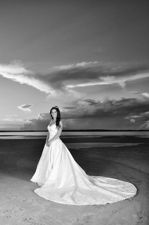 Erin Bridal Portrait | Emerald Isle Photographers