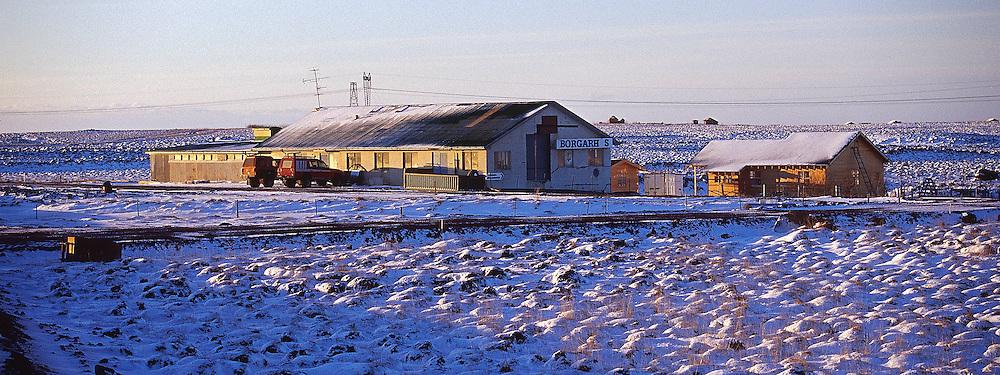 Fyrirtækið Borgarhús í Grímsneshreppi..Firm Borgarhus in Grimsneshreppur.