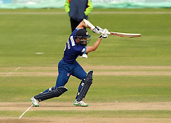 Gloucestershire's Michael Klinger drives the ball - Mandatory by-line: Robbie Stephenson/JMP - 07966386802 - 04/08/2015 - SPORT - CRICKET - Bristol,England - County Ground - Gloucestershire v Durham - Royal London One-Day Cup