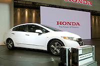 Honda stand at the Tokyo motorshow. October 2009.