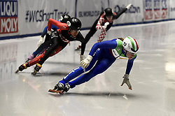 February 8, 2019 - Torino, Italia - Foto LaPresse/Nicolò Campo .8/02/2019 Torino (Italia) .Sport.ISU World Cup Short Track Torino - Mixed Gender Relay Heats.Nella foto: Martina Valcepina..Photo LaPresse/Nicolò Campo .February 8, 2019 Turin (Italy) .Sport.ISU World Cup Short Track Turin - Mixed Gender Relay Heats .In the picture: Martina Valcepina (Credit Image: © Nicolò Campo/Lapresse via ZUMA Press)