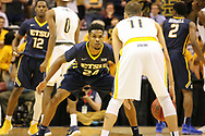 March 5, 2018 - Asheville, North Carolina - U.S. Cellular Center: ETSU guard Jermaine Long (24)<br /> <br /> Image Credit: Dakota Hamilton/ETSU