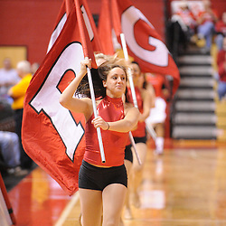 Feb 24, 2009; Piscataway, NJ, USA; The Rutgers Dance Team leads the women's basketball team out prior to the start of Rutgers' 71-53 victory over Cincinnati at the Louis Brown Athletic Center.