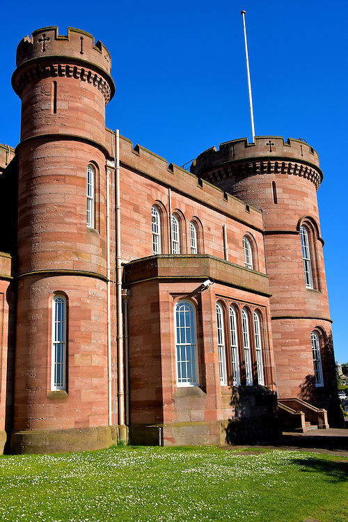 Role of Inverness Castle in Inverness, Scotland<br />