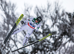 21.01.2118, Heini Klopfer Skiflugschanze, Oberstdorf, GER, FIS Skiflug Weltmeisterschaft, Teambewerb, im Bild Peter Prevc (SLO) // Peter Prevc of Slovenia during Team competition of the FIS Ski Flying World Championships at the Heini-Klopfer Skiflying Hill in Oberstdorf, Germany on 2118/01/21. EXPA Pictures © 2118, PhotoCredit: EXPA/ Peter Rinderer