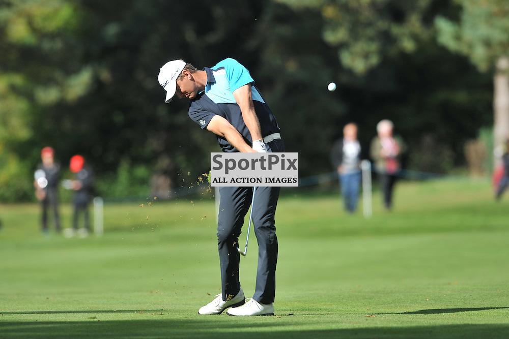 Robert Karlson Sweden, British Masters, European Tour, Woburn Golf Club, 8th October 2015