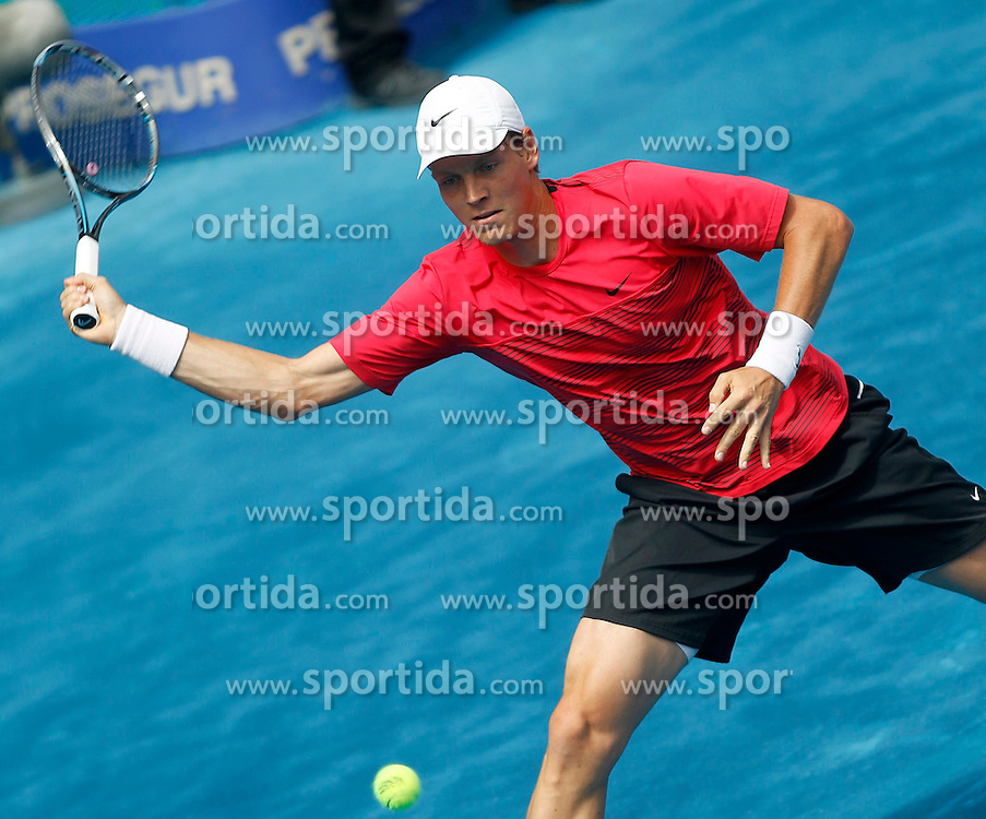 12.05.2012, Caja Magica, Madrid, ESP, ATP World Tour, Madrid Open, im Bild Tomas Berdych // during the ATP World Tour, Madrid Open at the Caja Magica, Madrid, Spain on 2012/05/12. EXPA Pictures © 2012, PhotoCredit: EXPA/ Alterphotos/ Acero..***** ATTENTION - OUT OF ESP and SUI *****