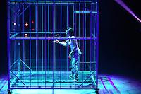 Karlsruhe. 04.09.15 Circus Flic Flac. 25 Jahre Programm &quot;H&ouml;chststrafe&quot;.<br /> Am 4. November 2015 kommt Flic Flac nach Mannheim. Preview zum aktuellen Programm.<br /> <br /> Bild: Markus Pro&szlig;witz 04SEP15 / masterpress (Bild ist honorarpflichtig)