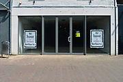 Nederland, Ede, 28-5-2017Winkelgebied Ede tijdens koopzondag biedt troosteloze aanblik. FOTO: FLIP FRANSSEN