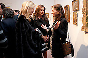 CHRISTINA BOOTHE; ELLA KRASNER; BARONESS MICHOU VON BESCHWITZ, Book launch for ' art and Patronage: The Middle East' at Sotheby's. London. 22 November 2010. -DO NOT ARCHIVE-© Copyright Photograph by Dafydd Jones. 248 Clapham Rd. London SW9 0PZ. Tel 0207 820 0771. www.dafjones.com.