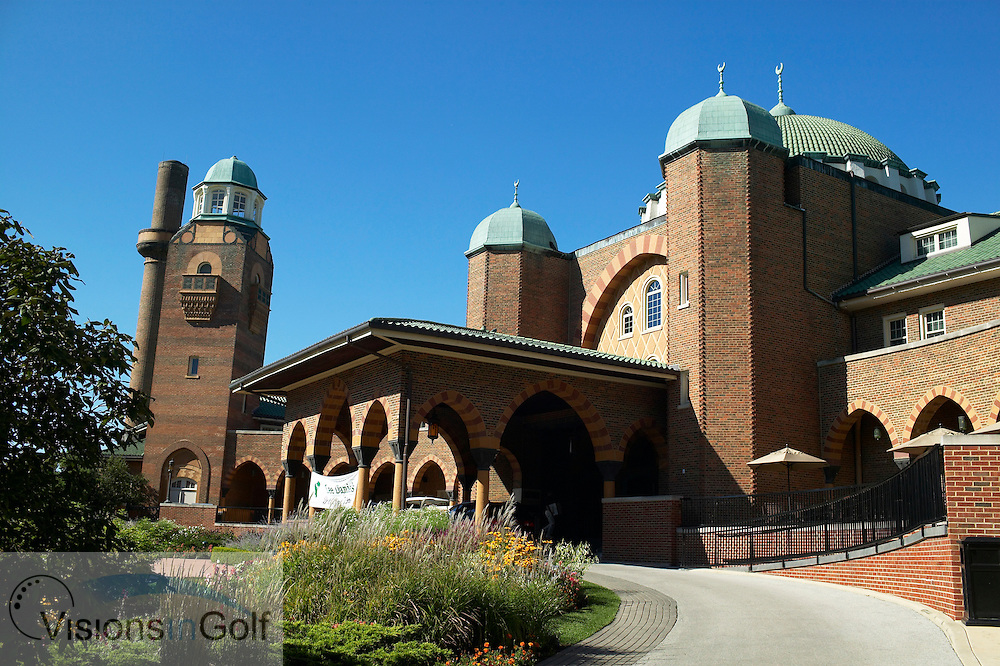 040907 Chicago Il  / The club house at  Medinah Country Club was built by the Chicago Shriners and constructed by Richard G. Schmid it opened 2 nov 1924<br /> Photo Visions In Golf/Christer Hoglund