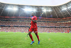 04.08.2015, Allianz Arena, Muenchen, GER, AUDI CUP, Real Madrid vs Tottenham Hotspur, im Bild David Alaba (FC Bayern Muenchen #27) // during the 2015 AUDI Cup Match between Real Madrid CF and Tottenham Hotspur at the Allianz Arena in Muenchen, Germany on 2015/08/04. EXPA Pictures © 2015, PhotoCredit: EXPA/ Eibner-Pressefoto/ Schüler<br /> <br /> *****ATTENTION - OUT of GER*****