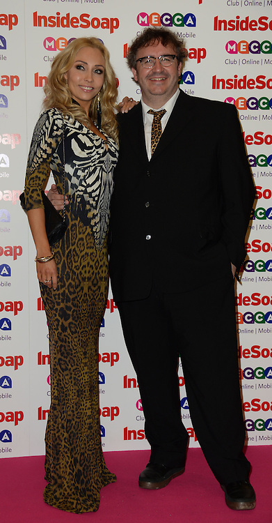 Inside Soap Awards.<br /> Mark Benton and guest during the Inside Soap Awards, Ministry of Sound, London, United Kingdom,<br /> Monday, 21st October 2013. Picture by Andrew Parsons / i-Images