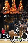 Stephanie Brieussel - Amorak<br /> Olympia Horse Show 2016<br /> © DigiShots