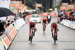 Franziska Koch (GER) wins sprint ahead of Christine Majerus (LUX) at Boels Ladies Tour 2019 - Stage 4, a 135.6 km road race from Arnhem to Nijmegen, Netherlands on September 7, 2019. Photo by Sean Robinson/velofocus.com