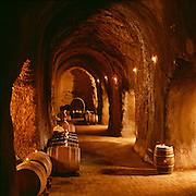 intimate wine cave at S. Anderson winery