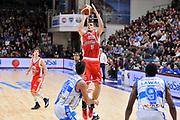 DESCRIZIONE : Campionato 2014/15 Dinamo Banco di Sardegna Sassari - Grissin Bon Reggio Emilia<br /> GIOCATORE : Ojars Silins<br /> CATEGORIA : Tiro Tre Punti<br /> SQUADRA : Grissin Bon Reggio Emilia<br /> EVENTO : LegaBasket Serie A Beko 2014/2015<br /> GARA : Dinamo Banco di Sardegna Sassari - Grissin Bon Reggio Emilia<br /> DATA : 22/12/2014<br /> SPORT : Pallacanestro <br /> AUTORE : Agenzia Ciamillo-Castoria / Luigi Canu<br /> Galleria : LegaBasket Serie A Beko 2014/2015<br /> Fotonotizia : Campionato 2014/15 Dinamo Banco di Sardegna Sassari - Grissin Bon Reggio Emilia<br /> Predefinita :