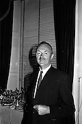 12/06/1963<br /> 06/12/1963<br /> 12 June 1963<br /> F.A. Wyatt and Co. Ltd./Peek Frean reception at the Shelbourne Hotel, Dublin. Mr. T.S. Maharry, Managing Director, F.A. Wyatt and Co. Ltd.