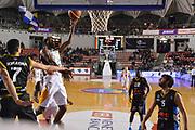 DESCRIZIONE : Roma Lega A 2014-15 Acea Virtus Roma Orlandina Basket<br /> GIOCATORE : kyle gibson<br /> CATEGORIA : tiro sottomano<br /> SQUADRA : Acea Virtus Roma Orlandina Basket<br /> EVENTO : Campionato Lega Serie A 2014-2015<br /> GARA : Acea Virtus Roma Orlandina Basket<br /> DATA : 08.02.2015<br /> SPORT : Pallacanestro <br /> AUTORE : Agenzia Ciamillo-Castoria/M.Greco<br /> Galleria : Lega Basket A 2014-2015 <br /> Fotonotizia : Roma Lega A 2014-15 Acea Virtus Roma Orlandina Basket