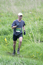 """(Kingston, Ontario---16/05/09) """"Mike Abraham finished 7 in the men's 10-12 km Enduro Race at the 2009 Salomon 5 Peaks Trail Running series Race held in Kingston, Ontario as part of the Eastern Ontario/Quebec division.""""  Copyright photograph Sean Burges/Mundo Sport Images, 2009. www.mundosportimages.com / www.msievents.com."""