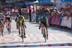Giorgia Bronzini (ITA) of Cylance Pro Cycling wins Stage 2 of the Madrid Challenge - a 100.3 km road race, starting and finishing in Madrid on September 16, 2018, in Spain. (Photo by Balint Hamvas/Velofocus.com)