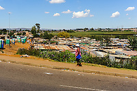 Shanty town. Soweto is a suburb of Johannesburg,, short for South Western Township. A symbol of the uprising against apartheid.