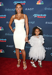 August 30, 2016 - Hollywood, CA, United States - 30 August 2016 - Hollywood, California - Melanie Brown, Mel B, Angel Brown. ''America's Got Talent'' Season 11 Live Show Semi-Finals held at Dolby Theatre. Photo Credit: Faye Sadou/AdMedia (Credit Image: © Faye Sadou/AdMedia via ZUMA Wire)