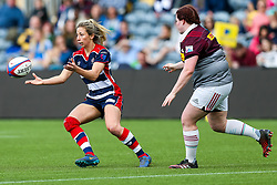 Elinor Snowsill of Bristol Ladies - Rogan Thomson/JMP - 23/04/2017 - RUGBY UNION - Sixways Stadium - Worcester, England - Bristol Ladies Rugby v Aylesford Bulls - Women's Premiership Final.