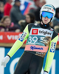 Michael Hayboeck of Austria during the Ski Flying Individual Qualification at Day 1 of FIS World Cup Ski Jumping Final, on March 19, 2015 in Planica, Slovenia. Photo by Vid Ponikvar / Sportida