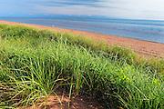 Sand dunes along the Northumberland Strait