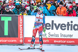 16.02.2019, Aare, SWE, FIS Weltmeisterschaften Ski Alpin, Slalom, Damen, 2. Lauf, im Bild Bronzemedaillengewinnerin Petra Vlhova (SVK) // Bronze medalist Petra Vlhova of Slovakia during her 2nd run for the ladie's Slalom of FIS Ski World Championships 2019. Aare, Sweden on 2019/02/16. EXPA Pictures © 2019, PhotoCredit: EXPA/ Dominik Angerer