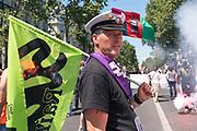 France, Paris, 28 June 2018. Interprofessional protest march.
