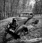Old Dodge Truck Remains, Ely's Mill, Great Smoky Nationl Park