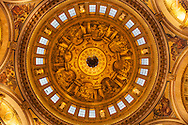 St Paul's Cathedral, Crpyt Roof, London, UK