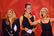 The Dixie Chicks during the first ever CMT Flameworthy Video Music Awards at the Gaylord Entertainment Center in Nashville, Tennesee.  6/12/02  Photo by Scott Gries/PictureGroup