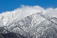 Mount Baldy Winter Snow, Southern California
