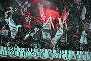 Foto LaPresse - Donato Fasano<br /> 03/03/2015 Bari( Italia)<br /> Sport Calcio<br /> Fc  Bari 1908 - Catania<br /> Campionato di Calcio Serie B 2014 2015 - Stadio &quot;San Nicola&quot;<br /> Nella foto: ultras bari<br /> <br /> Photo LaPresse - Donato Fasano<br /> 03 Mar  2015 Bari ( Italy)<br /> Sport Soccer<br /> Fc Bari 1908 - Catania<br /> Italian Football Championship League B  2014 2015 - &quot;San Nicola&quot; Stadium <br /> In the pic: ultras bari
