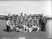 04/09/1955.09/04/1955.04 September 1955.Minor Hurling All-Ireland final  Tipperary Team.Tipperary 5-12.Galway 2-5.The All-Ireland Minor Hurling Championship 1955 was the 25th edition of the All-Ireland Minor Hurling.  Tipperary defeated Galway by 5-15 to 2-5 in the final to win the championship.
