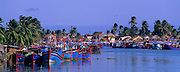 VIETNAM, NHA TRANG, harbor and fishing boats