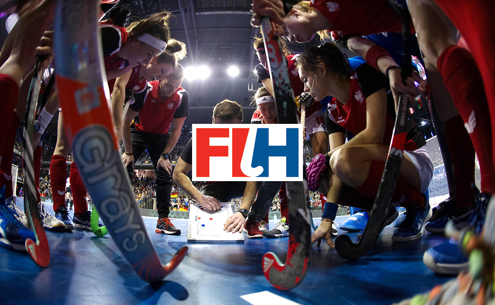 BERLIN - Indoor Hockey World Cup<br /> Quarterfinal 3: Germany - Poland<br /> foto: <br /> WORLDSPORTPICS COPYRIGHT FRANK UIJLENBROEK