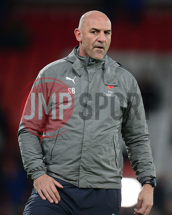Arsenal's Assistant Manger Steve Bould - Mandatory by-line: Alex James/JMP - 03/01/2017 - FOOTBALL - Vitality Stadium - Bournemouth, England - Bournemouth v Arsenal - Premier League