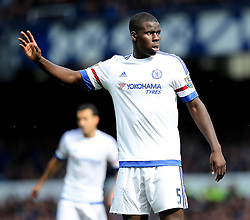 Kurt Zouma of Chelsea   - Mandatory byline: Matt McNulty/JMP - 07966386802 - 12/09/2015 - FOOTBALL - Goodison Park -Everton,England - Everton v Chelsea - Barclays Premier League