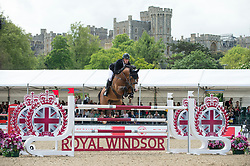 Whitaker William, GBR, Utamaro D Ecaussines<br /> CSI5* Jumping<br /> Royal Windsor Horse Show<br /> © Hippo Foto - Jon Stroud