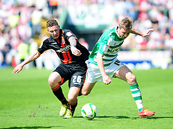 Sheffield United's Callum McFadzean  - Photo mandatory by-line: Dougie Allward/JMP - Tel: Mobile: 07966 386802 06/05/2013 - SPORT - FOOTBALL - Huish Park - Yeovil - Yeovil Town V Sheffield United - NPOWER LEAGUE ONE PLAY-OFF SEMI-FINAL SECOND LEG